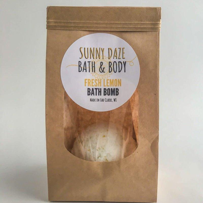 Sunny Daze Bath & Body Bath Bombs - Fresh lemon