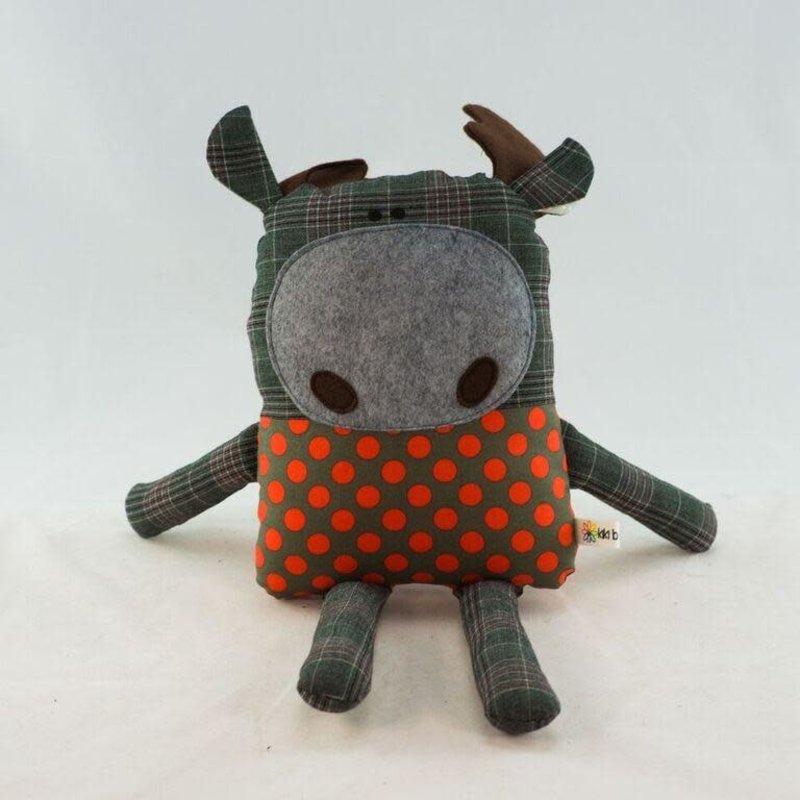 Kiki b Omi Designs Up-Cycled Friend - Moose