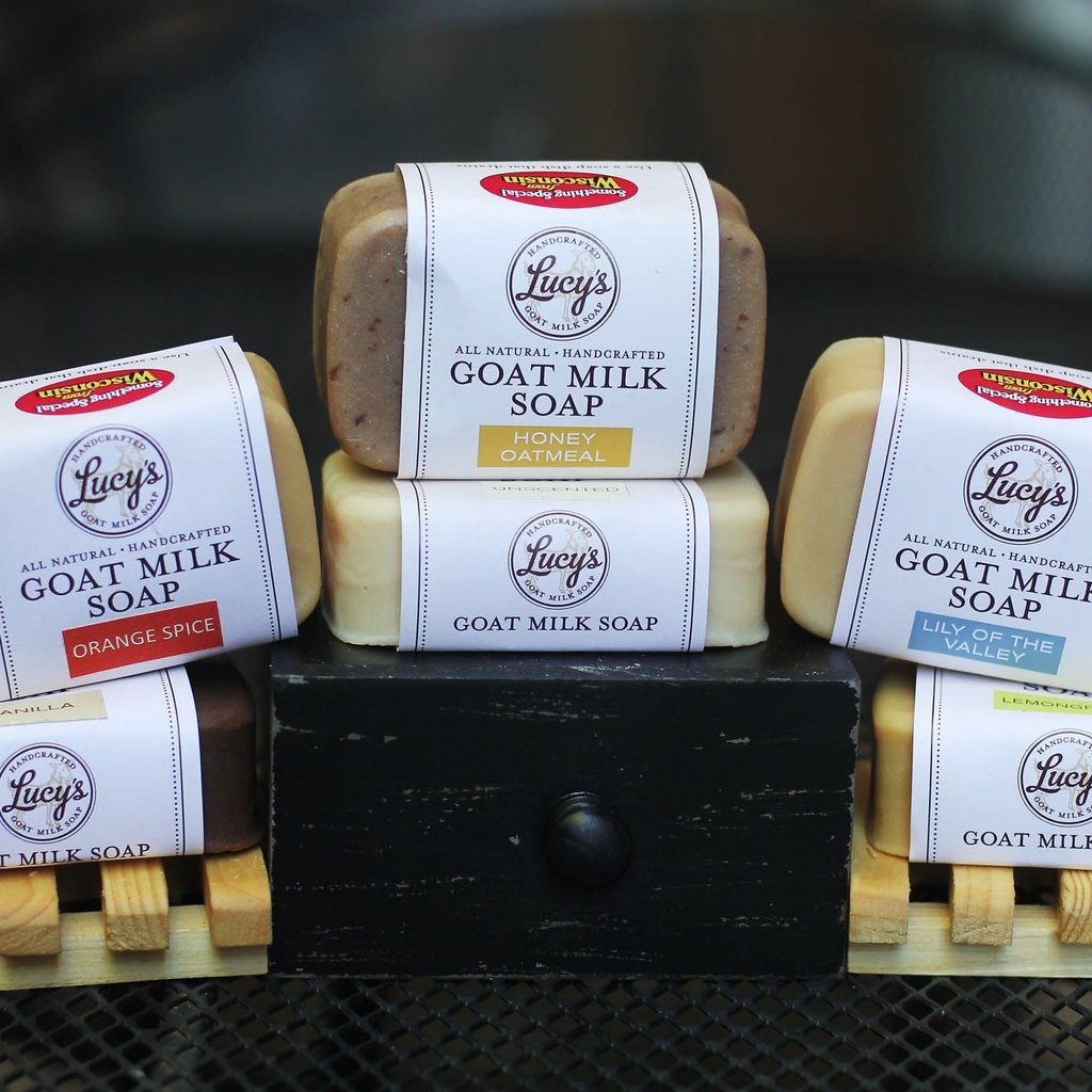 Lucy's Goat Milk Soap Lucy's Goat Milk Soap - Energy Bath Bar