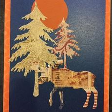 Cari Raynae Animal Tree Greeting Card