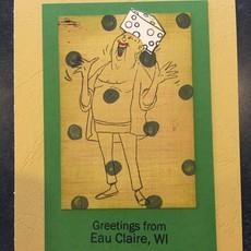 Cari Raynae Cheesehead Greeting Card