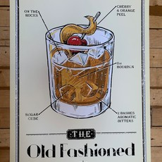 Volume One Prohibition Old Fashioned Print (16x24 Giclee)