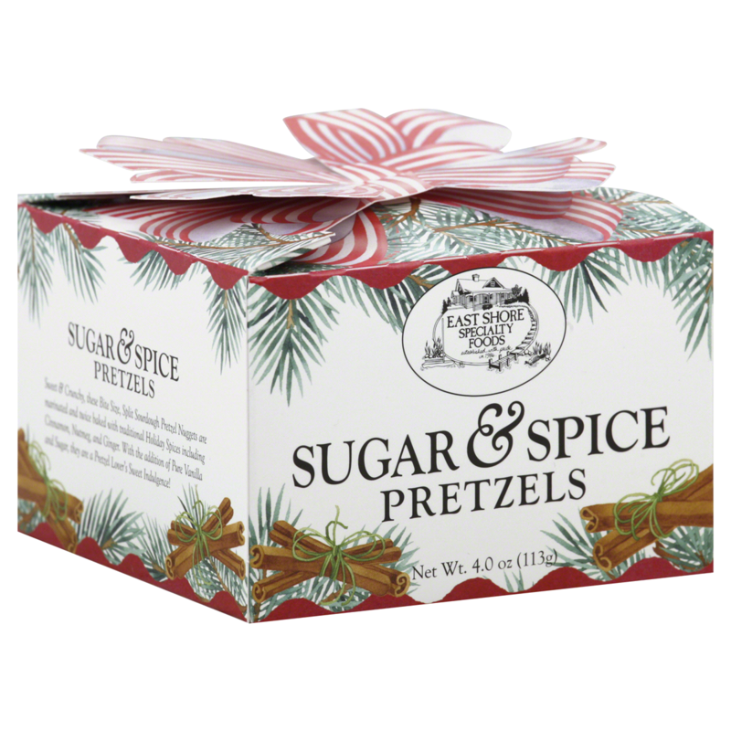 East Shore Specialty Foods Sugar and Spice Pretzel Gift Box