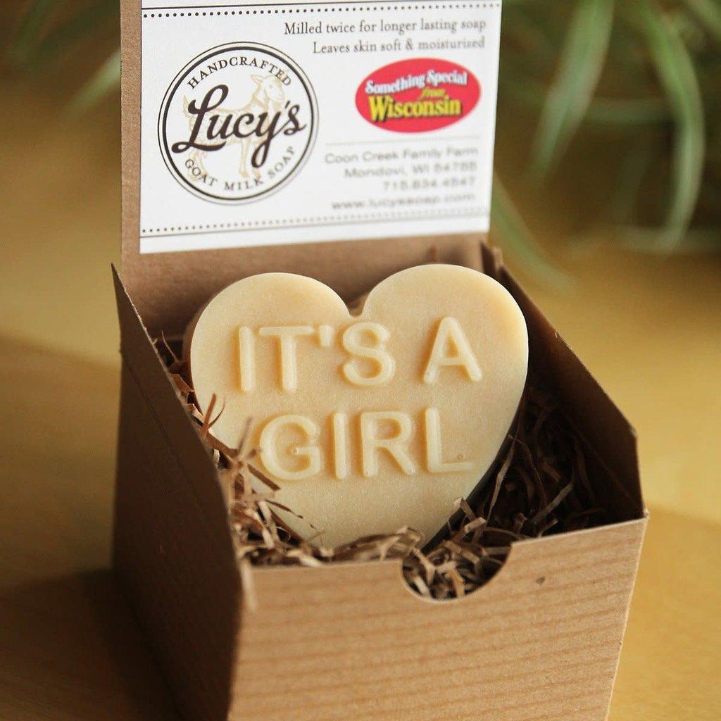 Lucy's Goat Milk Soap Lucy's Goat Milk Soap - It's A Girl