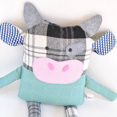 Kiki b Omi Designs Up-Cycled Friend - Cow