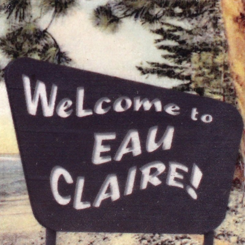 Volume One Marble Magnet - Welcome To Eau Claire