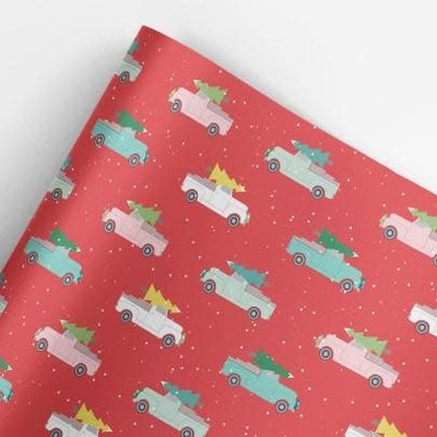 Volume One Wrapping Paper - Holiday Trucks