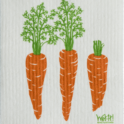 Volume One Swedish Dishcloth - Carrots