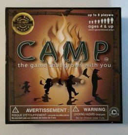Education Outdoors Camp Board Game