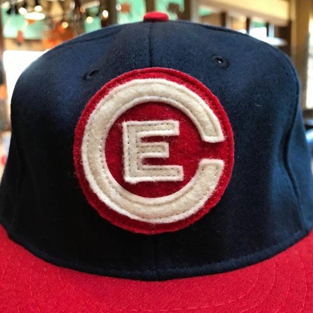 Ebbets Vintage Wool Hat - EC Bears Vintage Circle Logo