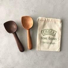 Endle Home Goods Wood Coffee Scoop w/ Handle (Assorted)