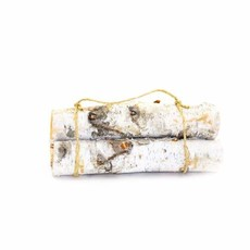 Winter Woods Birch Yule Log Bundle (Set of 3)