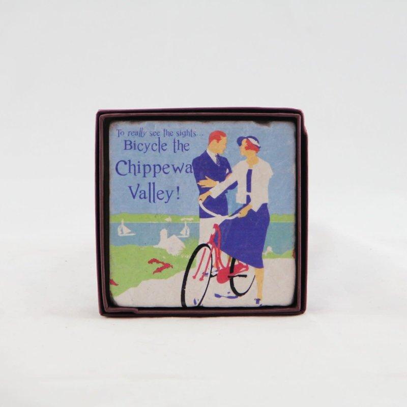 Volume One Marble Coaster - Bicycle