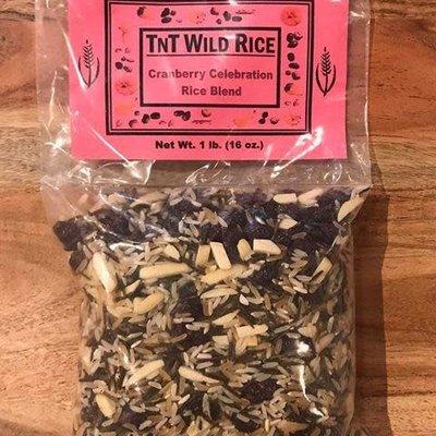 TNT Wild Rice Wild Rice - Cranberry Celebration Blend (1 lb.)