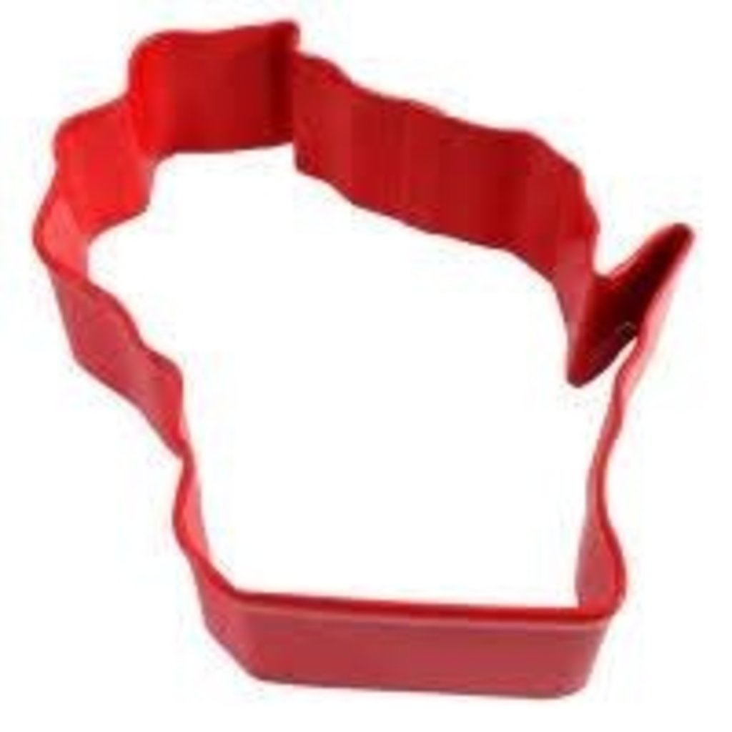 Volume One Cookie Cutter - Wisconsin (RED)