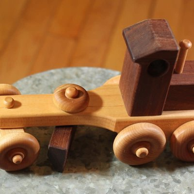 Hower Toys Hower Toys - Large Grader Wooden Toy