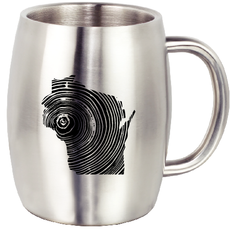Volume One Stainless Steel Mug - Homegrown