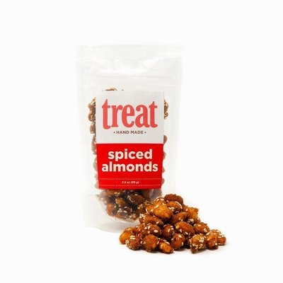 Treat Handmade Spiced Almonds (3 oz. Bag)