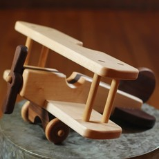 Hower Toys Hower Toys - Biplane Wooden Toy