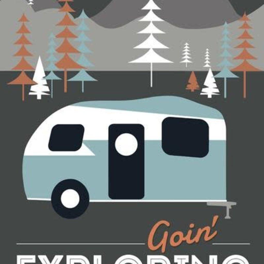 Volume One Goin' Exploring (Camper) Print (12x18)