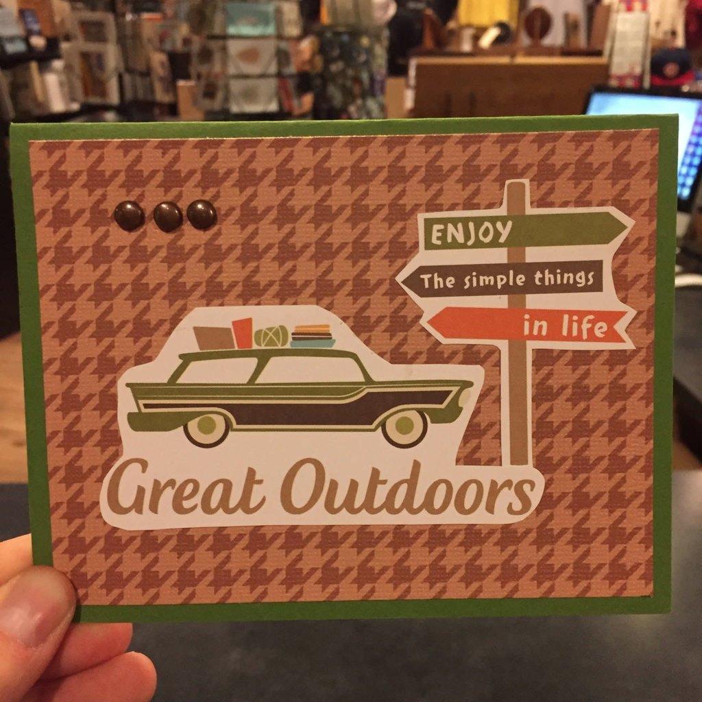 Cari Raynae Great Outdoors Greeting Card