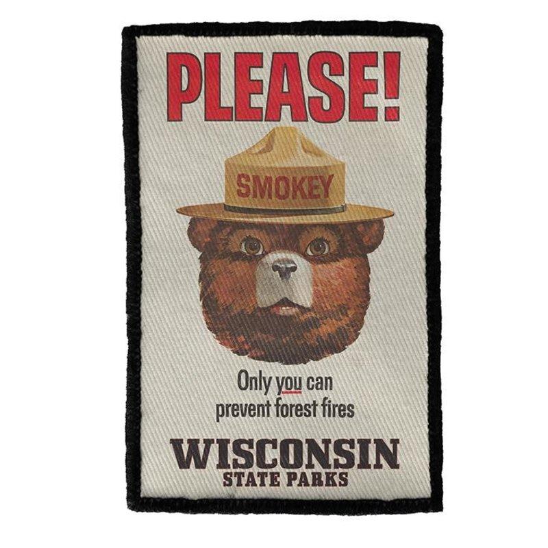 Volume One Patch - WI State Parks (Smokey Bear)