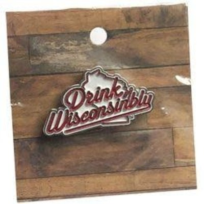 Drink Wisconsinbly Lapel Pin - Drink Wisconsinbly