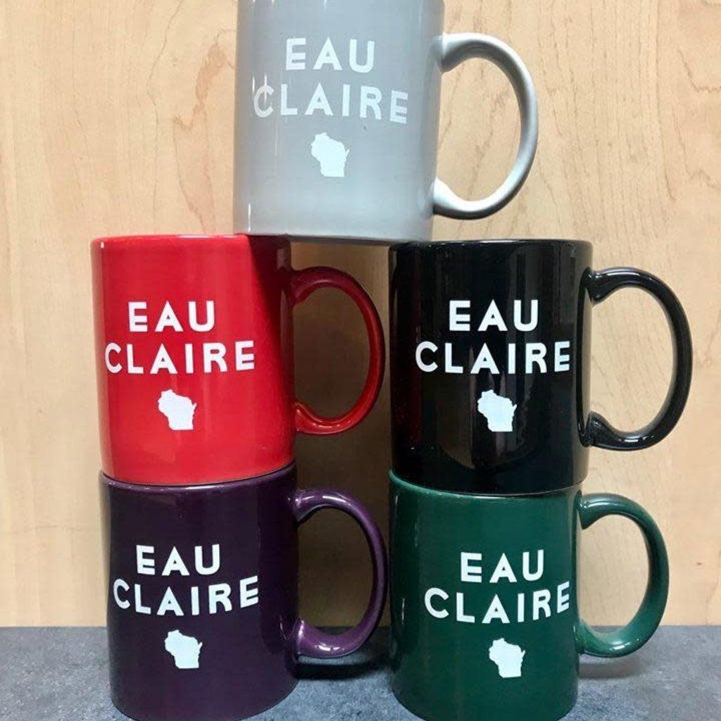 Volume One Eau Claire State Mug - Green
