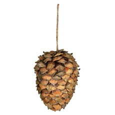 """Volume One Ornament - Large Pinecone (8"""")"""