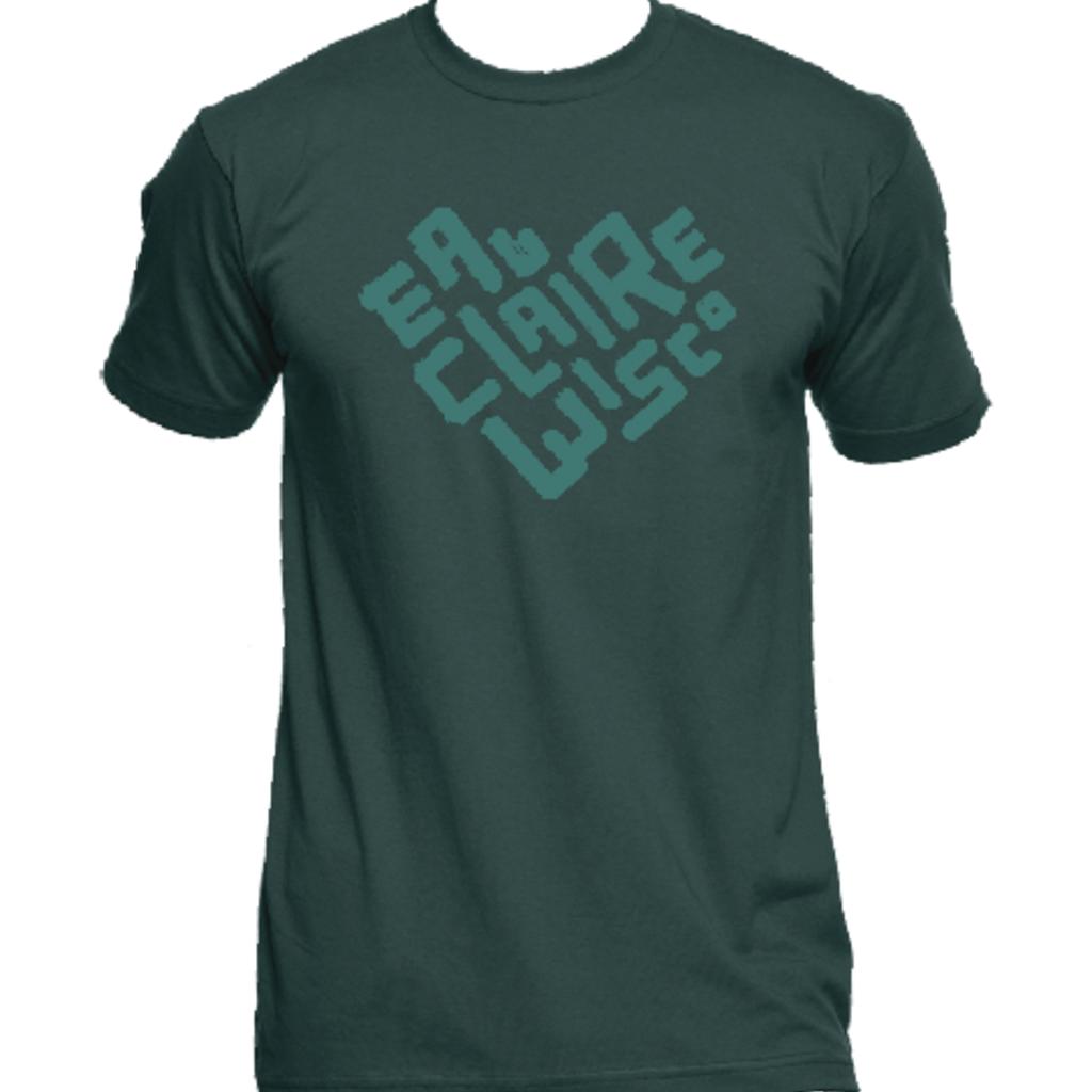 Volume One EC Wisco Heart Tee