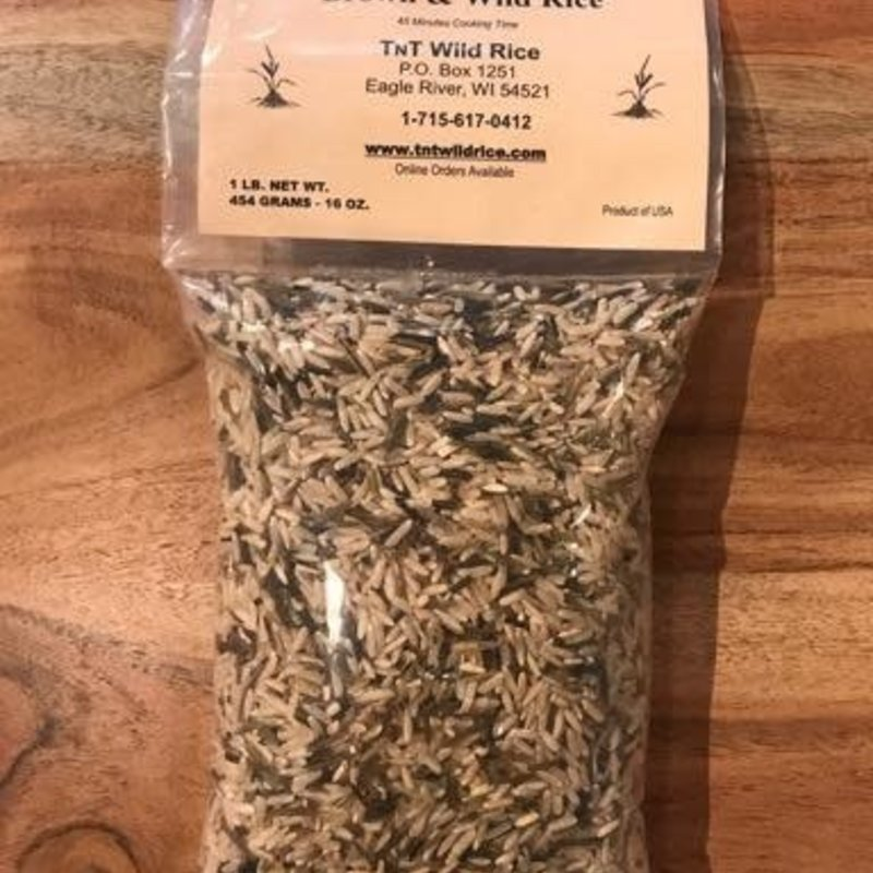 TNT Wild Rice Wild Rice - Brown & Wild Blend (1 lb.)