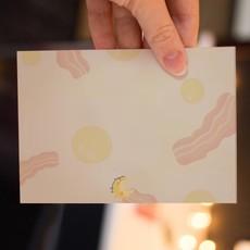 Lydia Tradewell Egg Greeting Card