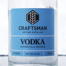 River Bend Distillery Craftsman Spirits - Vodka
