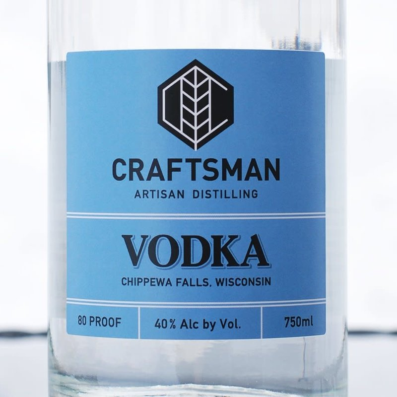 River Bend Distillery Craftsman Spirits - Vodka
