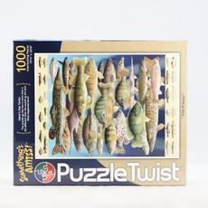 Puzzle Twist Fish Frenzy Jigsaw Puzzle