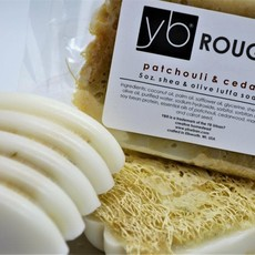 YB Urban? Creative Homestead YB Rough? Luffa & Wool Soap, Citrus Mint
