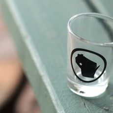 Volume One Shot Glass - Eau Claire Circle Stamp