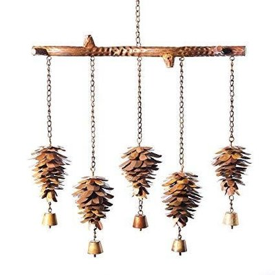 Volume One Windchime - Pinecone (Horizontal)