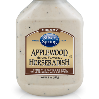Silver Spring Foods Applewood Smoked Flavored Horseradish (9 oz.)
