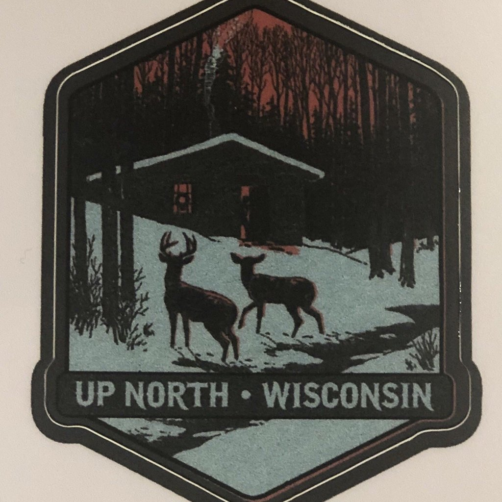 Volume One Die-Cut Sticker - Up North Wisconsin