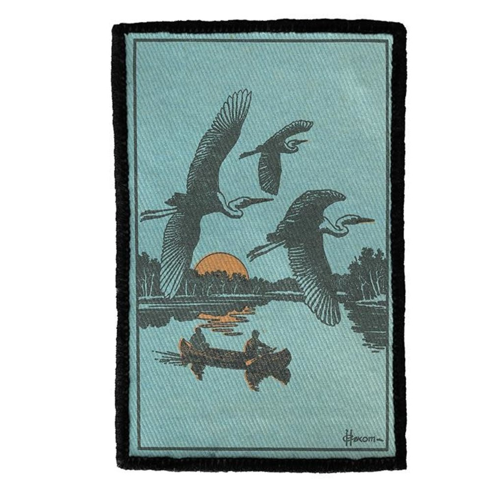 Volume One Patch - Herons in Flight