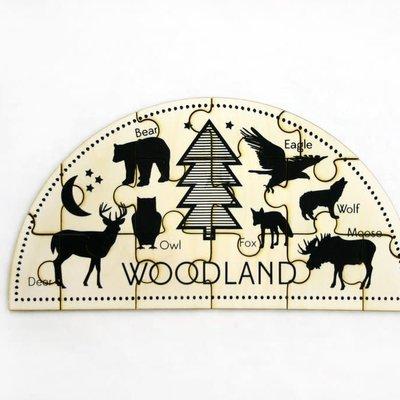 Tree Hopper Toys Jigsaw Puzzle - Woodland (Kids)