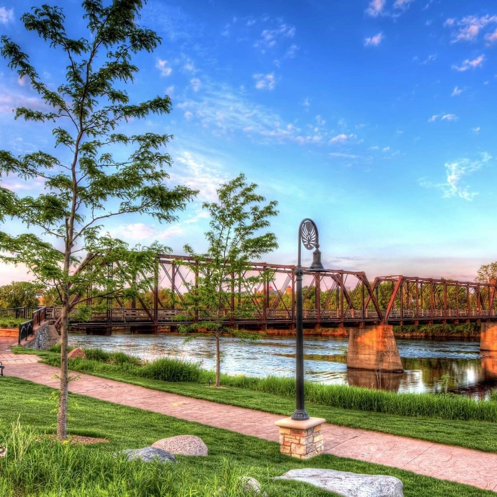 Lloyd Fleig The Bridge at Phoenix Park