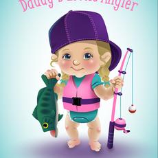 Benjamin Kluge Daddy's Little Angler (Girl)