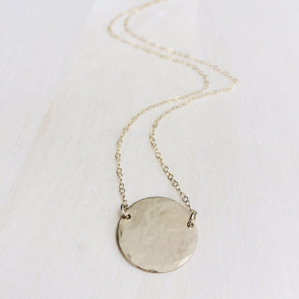 Hello Adorn Jewelry Supermoon Necklace - Silver