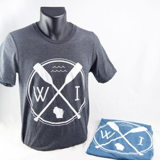 Forward Apparel Company Wisconsin Paddle Tee - Teal