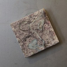 Volume One Marble Magnet - Eau Claire & Chippewa River