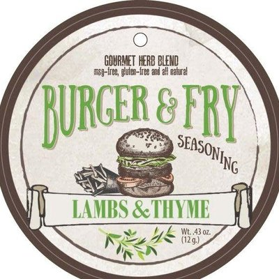 Lambs & Thyme Herb Blend - Burger and Fry Seasoning
