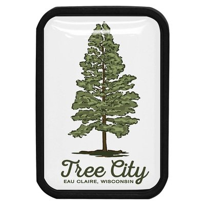 Volume One Lapel Pin - Tree City Eau Claire