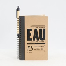 Volume One EAU Spiral Notebook